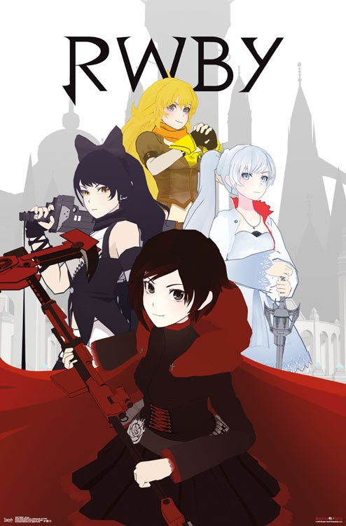 RWBY - Group Wall Poster - Kryptonite Character Store