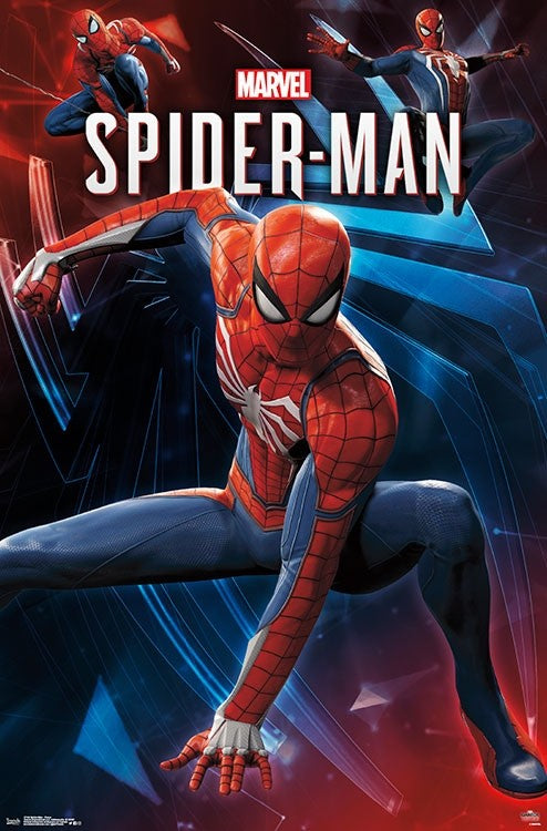Spider-Man - Poses Wall Poster - Kryptonite Character Store
