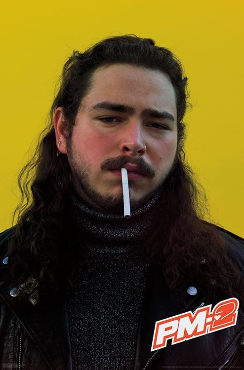 Post Malone - Smoke Wall Poster