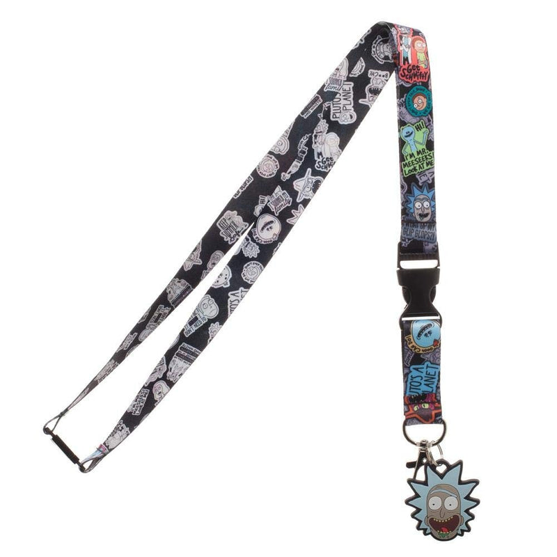 Rick and Morty: Breakaway Lanyard with ID Badge