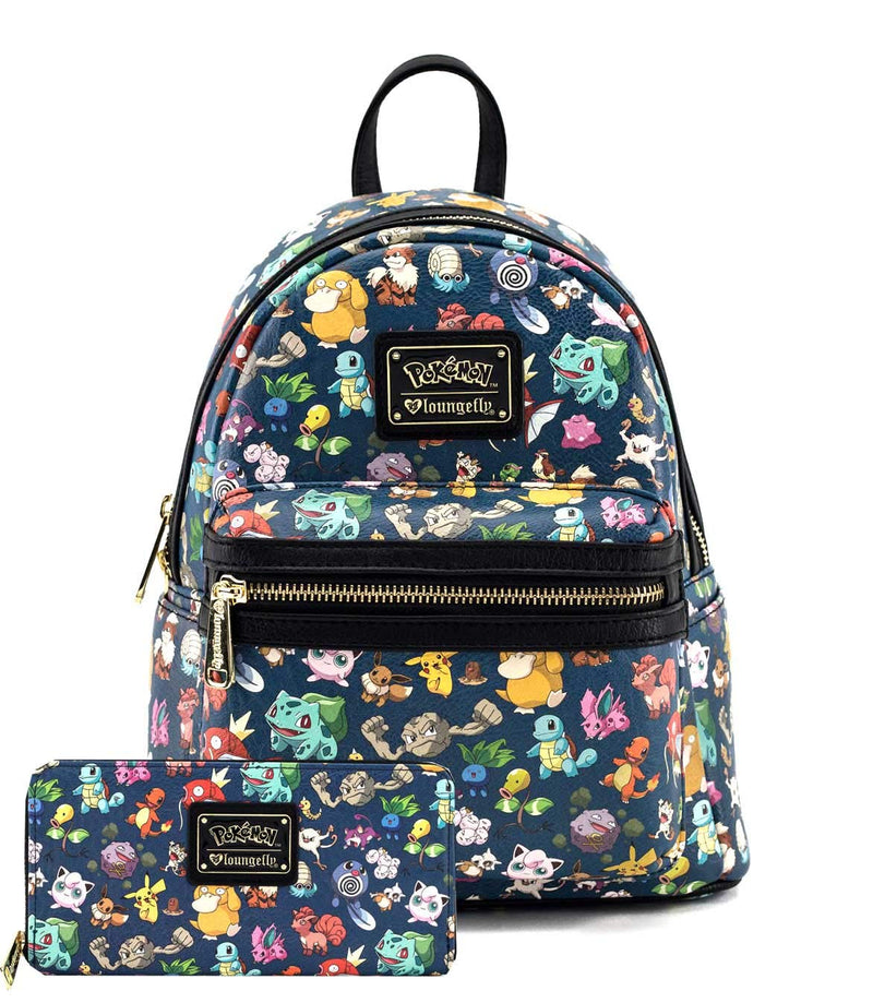 Pokémon First Generation Mini Backpack and Wallet Set