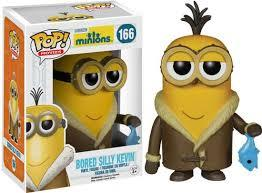 Minions Bored Silly Kevin Pop Vinyl Figure - Kryptonite Character Store
