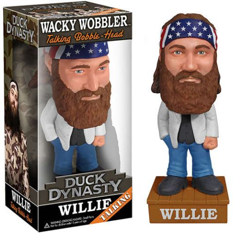 Funko - Willie Wacky Wobbler Duck Dynasty - Kryptonite Character Store