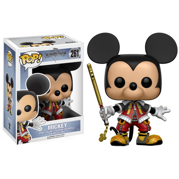 Disney Kingdom Hearts Mickey Pop Vinyl Figure - Kryptonite Character Store