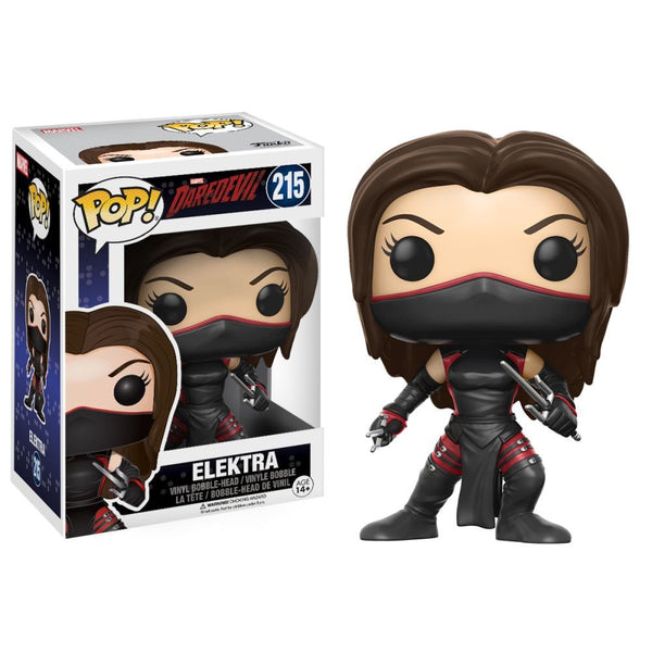 Marvel Daredevil Series Elektra Pop Vinyl Figure - Kryptonite Character Store