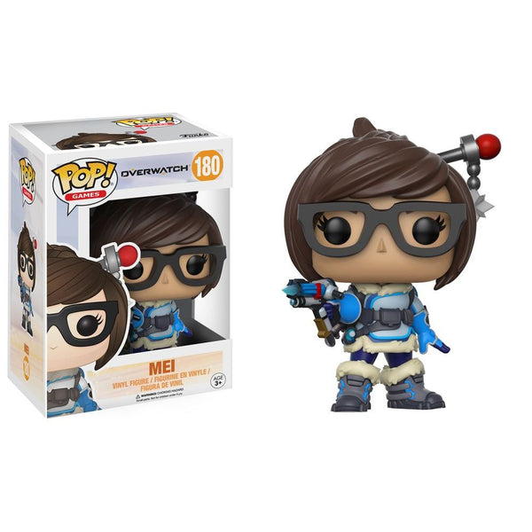 Overwatch Mei Pop Vinyl Figure - Kryptonite Character Store
