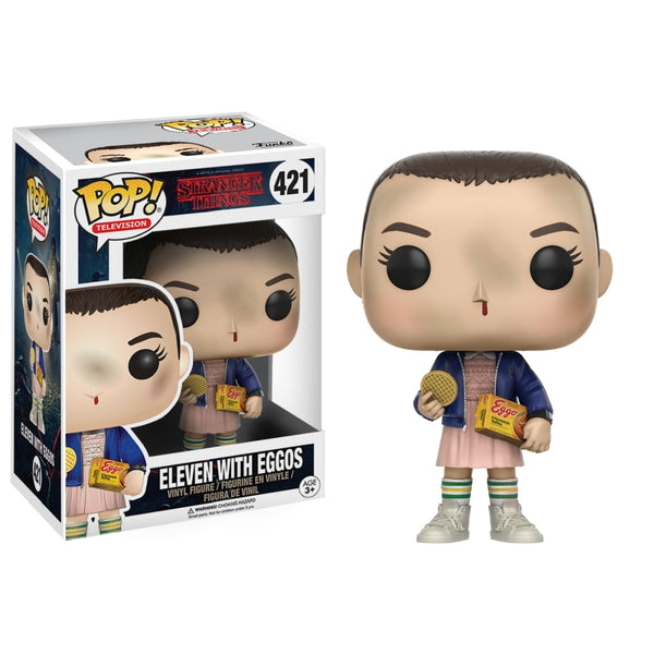 Stranger Things Eleven with Eggos Pop Vinyl Figure - Kryptonite Character Store