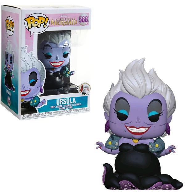 Disney: Little Mermaid - Ursula w/ Eels Pop Vinyl FigureDisney: Little Mermaid - Ursula w/ Eels Pop Vinyl Figure