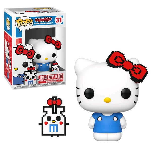 Funko POP! Buddy : Sanrio Hello Kitty 8 Bits (Anniversary w/ Chase)