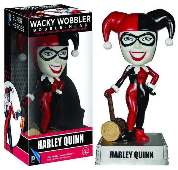 DC Comics: Harley Quinn Bobble Head