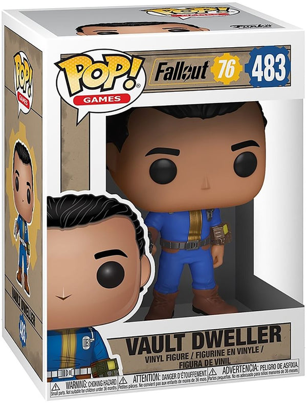 Fallout - Vault Dweller POP! - Kryptonite Character Store