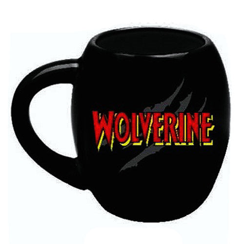 Wolverine Marvel 18 oz. Oval Ceramic Mug - Kryptonite Character Store