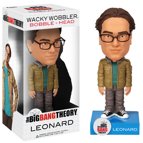 The Big Bang Theory Wacky Wobbler Leonard Bobble Head