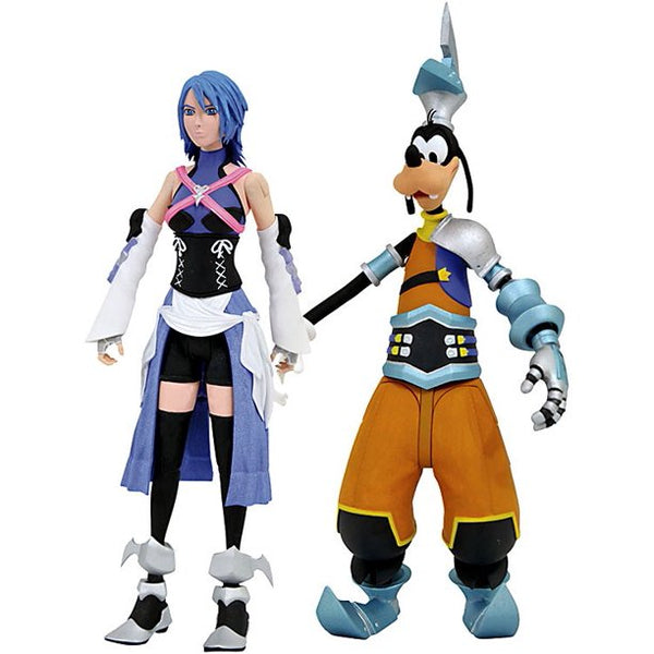 Kingdom Hearts Aqua & Birth By Sleep Goofy Action Figure 2-Pack