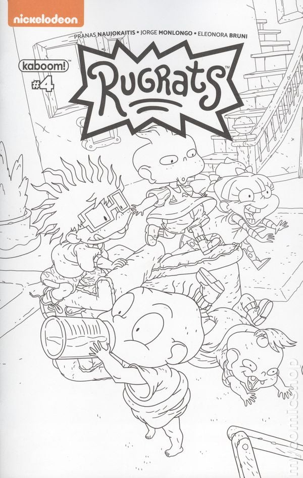 Rugrats Comic Adventures #4 Color Book Variant