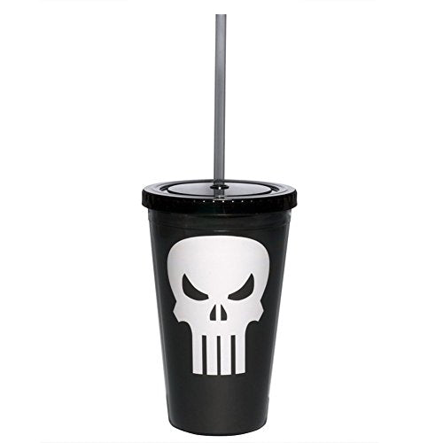 Marvel Punisher Straw Cup - Kryptonite Character Store