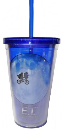 E.T. The Extra-Terrestrial Movie 16oz Straw Cup - Kryptonite Character Store