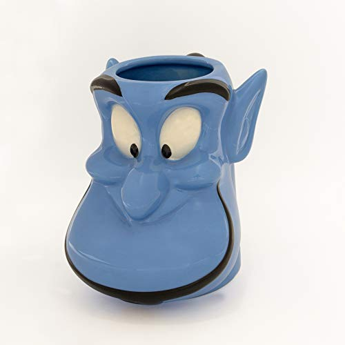 Disney Aladdin Genie Face Ceramic 3D 20oz. Sculpted Mug