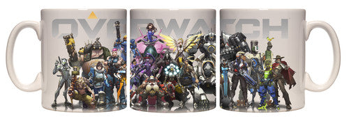 Overwatch Group 20 Oz Mug - Kryptonite Character Store