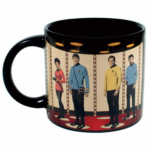 Star Trek Transporter Heat Changing 14oz. Mug - Kryptonite Character Store