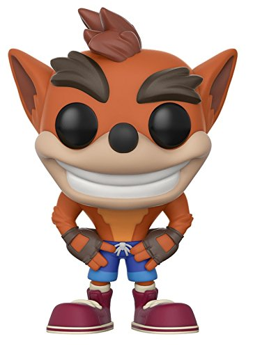 funko pop games crash bandicoot characters toy action figures