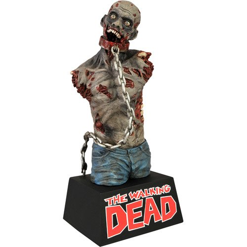 The Walking Dead michonne's Pet Zombie Vinyl Bust Bank