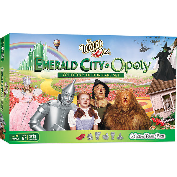 The Wizard of Oz Emerald City - Opoly Board Game