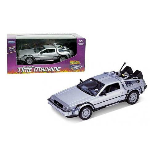 Back to the Future DeLorean Time Machine Die-Cast Vehicle - Kryptonite Character Store
