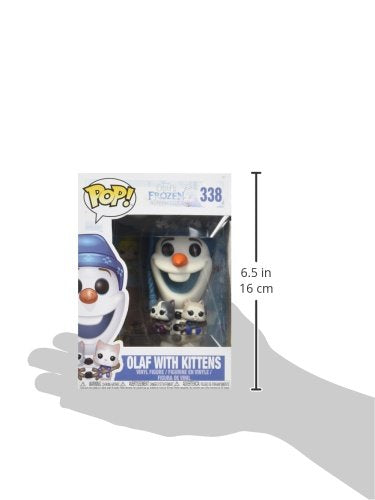 Funko Pop Disney Frozen - Olaf with Cats Vinyl Figure - Kryptonite Character Store