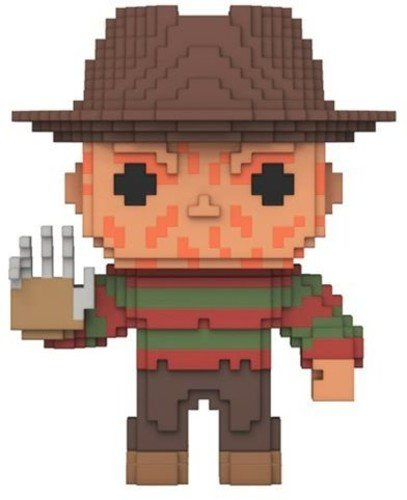 Freddy Krueger - Horror 8 Bit Pop Vinyl Figure - Kryptonite Character Store