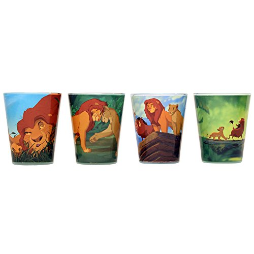 Disney Classic The Lion King Mini Glass Set - Kryptonite Character Store