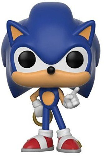 Funko Pop Games Sonic with Ring Collectible Toy - Kryptonite Character Store