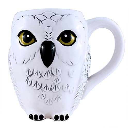 Harry Potter Hedwig 3D Ceramic 20oz. Mug - Kryptonite Character Store