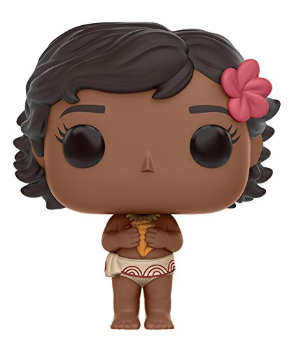 Funko Pop Disney: Moana - Young Moana Pop Vinyl Figure - Kryptonite Character Store