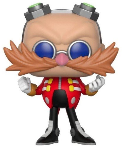 Funko Pop Games: Sonic-Dr. Eggman Collectible Toy - Kryptonite Character Store