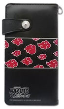 Great Eastern Entertainment Naruto Shippuden Akatsuki Pattern Wallet