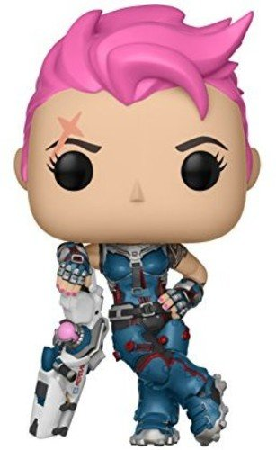 Funko Pop Games: Overwatch-Zarya, Multicolor - Kryptonite Character Store