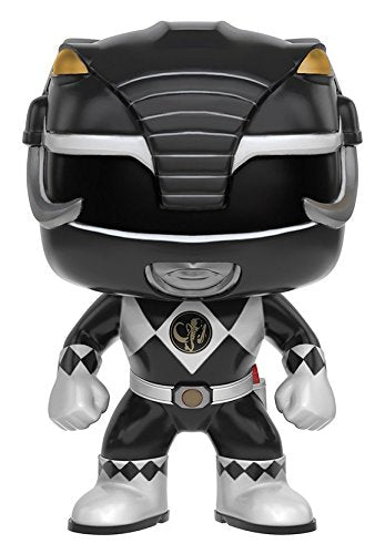 Funko POP TV: Power Rangers - Black Ranger Action Figure - Kryptonite Character Store