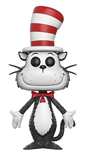 Funko POP Books: Dr. Seuss Cat in the Hat Toy Figure - Kryptonite Character Store