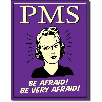 PMS Be Very Afraid! Metal Sign - Kryptonite Character Store