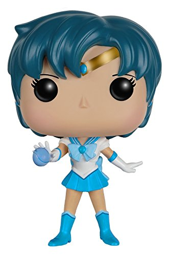 Funko POP Anime: Sailor Moon - Sailor Mercury Action Figure - Kryptonite Character Store