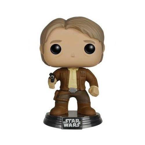 Funko POP Star Wars: Episode 7 - Han Solo Action Figure - Kryptonite Character Store