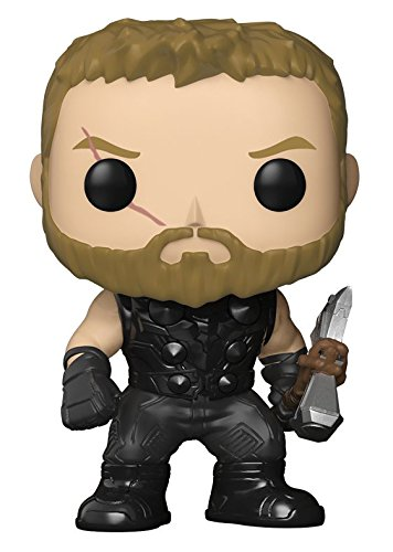 Funko Pop Marvel: Avengers Infinity War-Thor Collectible Figure, Multicolor - Kryptonite Character Store