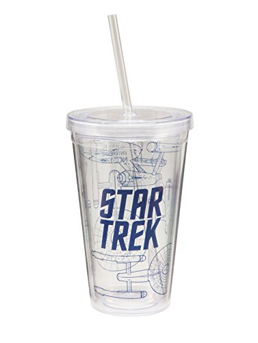 Star Trek 18oz. Straw Cup - Kryptonite Character Store