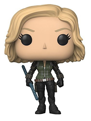 Funko Pop Marvel: Avengers Infinity War-Black Widow Collectible Figure, Multicolor - Kryptonite Character Store