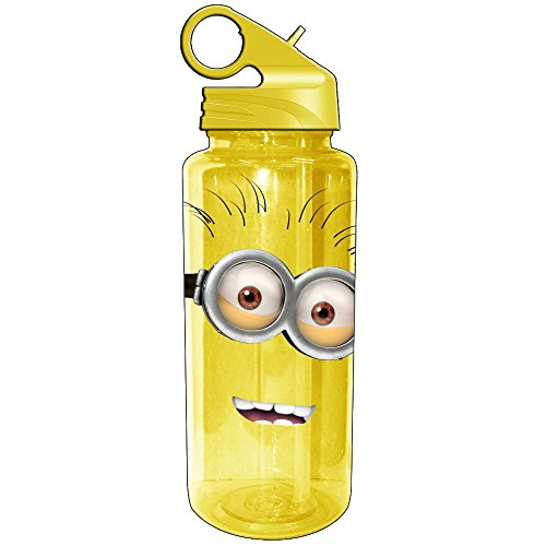 Despicable Me Two Eyed Minion 20oz. Water Bottle - Kryptonite Character Store