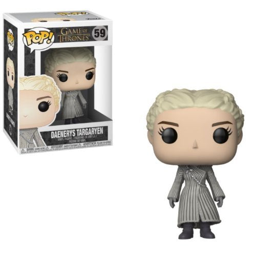 Game of Thrones Daenerys White Coat Pop Vinyl Figure - Kryptonite Character Store