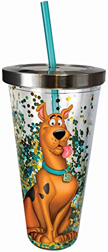 Scooby Doo 20oz. Straw Cup - Kryptonite Character Store