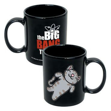 The Big Bang Theory Soft Kitty Heavy Ceramic 12 oz. Coffee Mug - Kryptonite Character Store