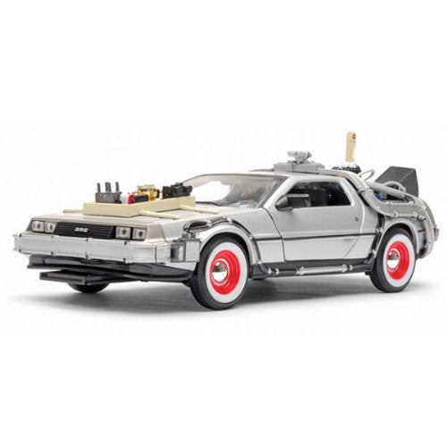 Back to the Future 3 DeLorean Time Machine Die-Cast Vehicle - Kryptonite Character Store